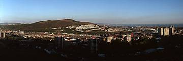 Swansea from Townhill